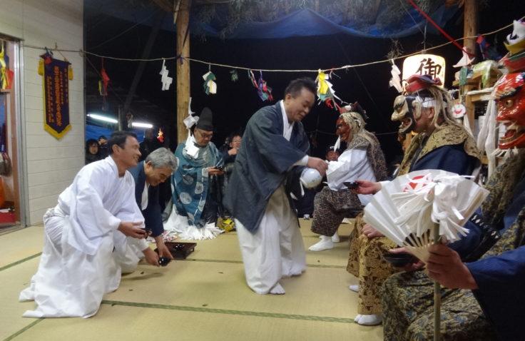 宮崎県諸塚村の戸下神楽